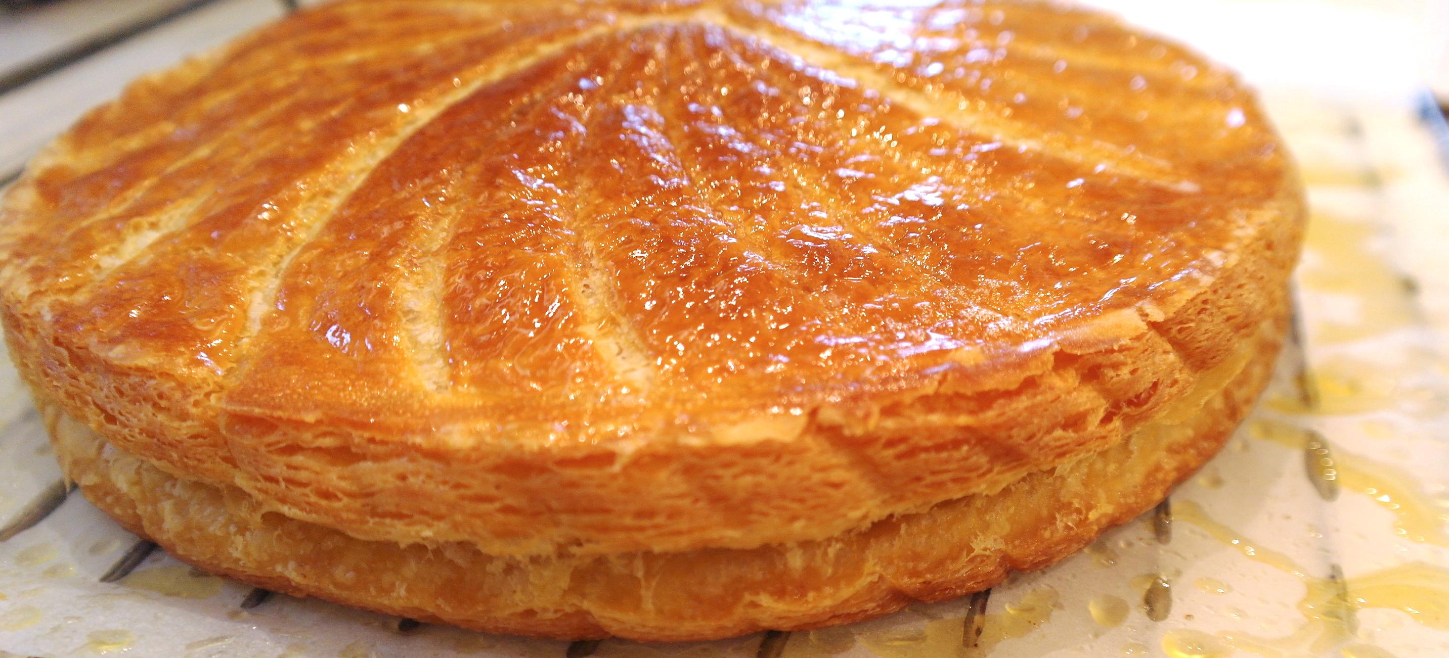 la galette des rois à la crème d'amandes